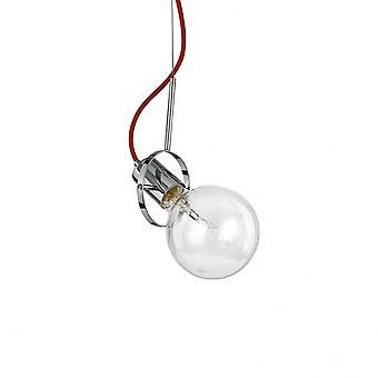 Ideel Lux Radio enkelt vedhæng lys Chrome