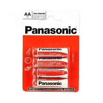 Panasonic R6RZ-4BP AA Size Battery
