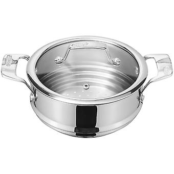 Stellar Steamers, 16 / 18 / 20cm Steamer Insert, with Glass lid