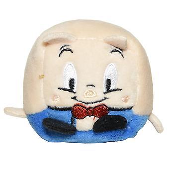 Kawaii Würfel Serie 1 kleine WB Charakter Plüsch - Porky Pig