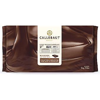 Callebaut Milchschokolade 34 % Block