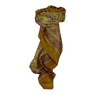 Mulberry silkeskjerf tradisjonelle torget Abhan karamell av Pashmina & Silk