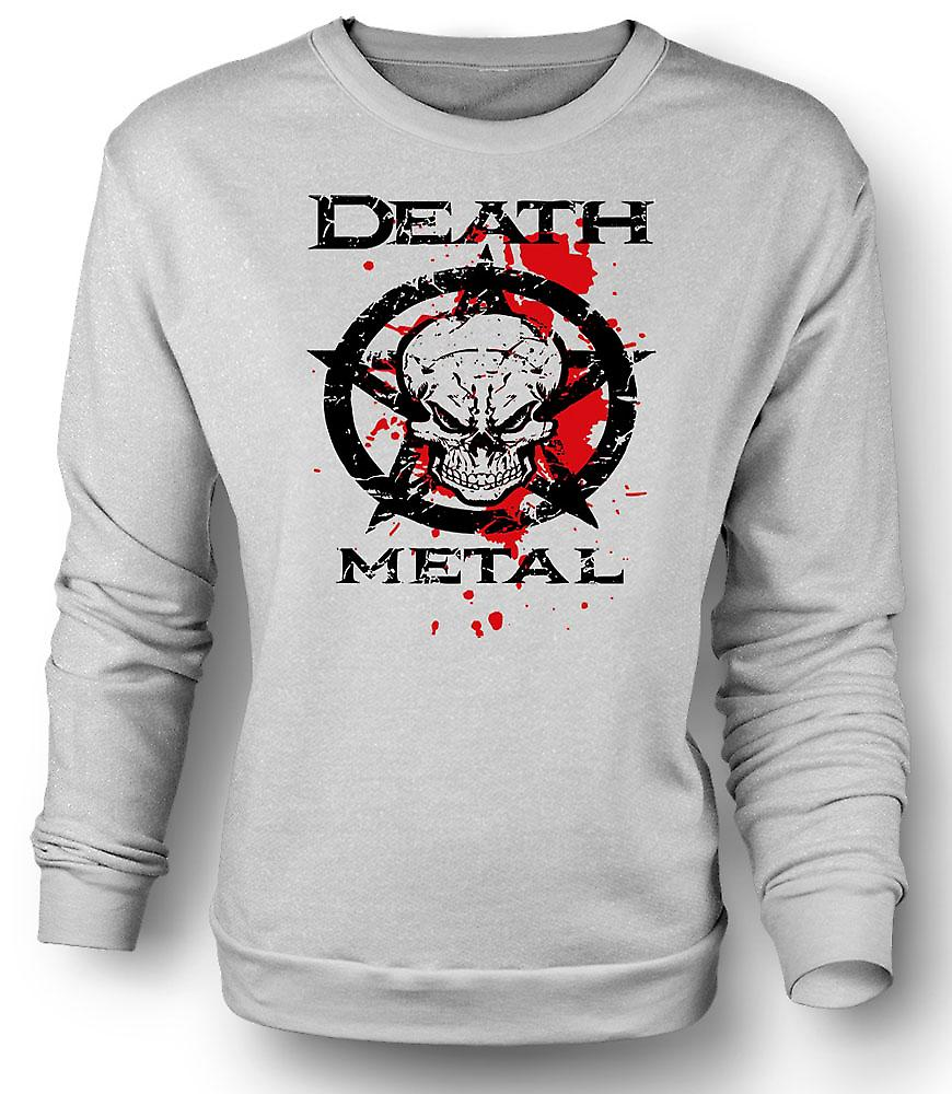 Mens Sweatshirt Death Metal - Thrash Black Metal - Music