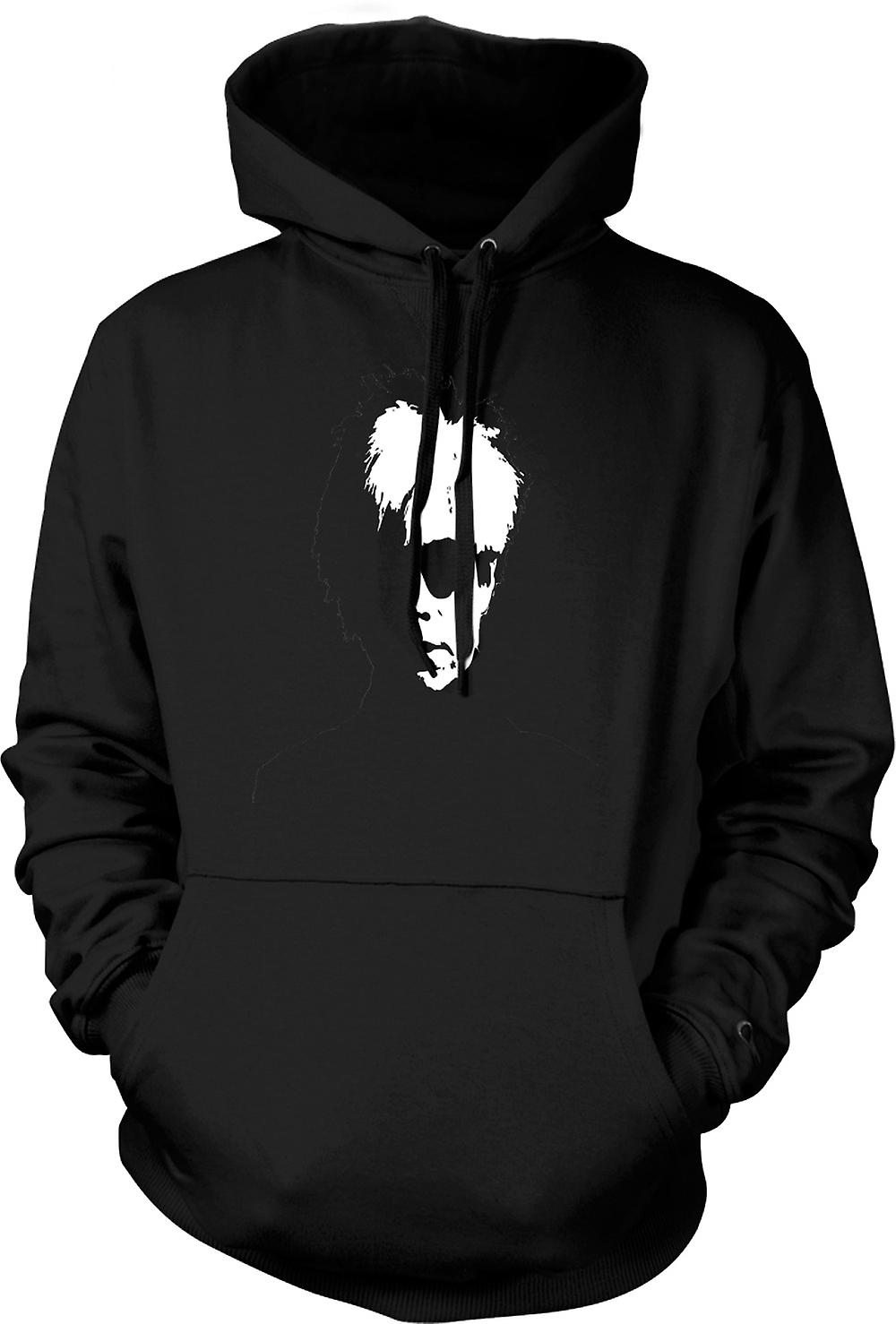 Mens Hoodie - Andy Warhol - BW - Pop Art