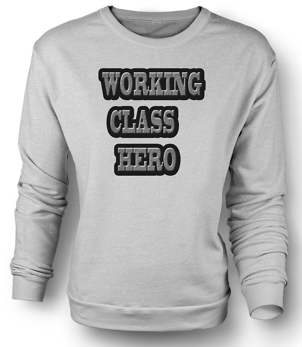 Mens felpa Working Class Hero - Lennon