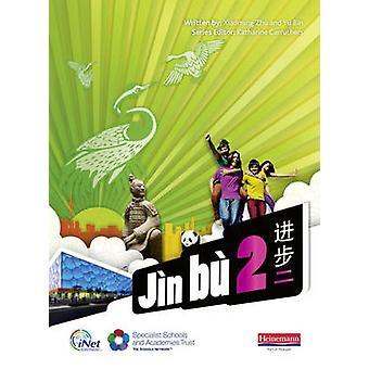 Jin Bu chinesische Schüler Buch 2 (11-14-Mandarin-Chinesisch) von Xiaoming Zhu
