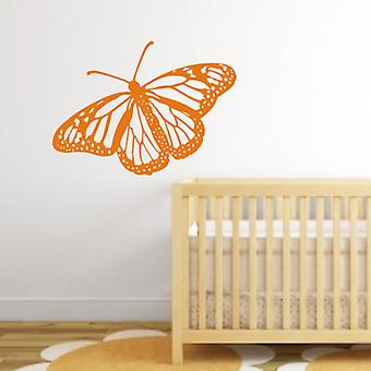 Monarch Butterfly wall art sticker klistermærke