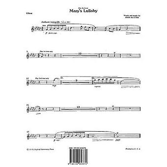 Mary's Lullaby: Oboe
