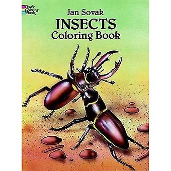 Insects Coloring Book (Dover Coloring Book)