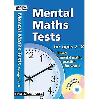 Mental Maths Tests: Timed Mental Maths Practice for Year 3 (Mental Maths Tests)