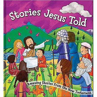 Square Cased Bible Story Book - Stories Jesus Told (Square Cased Bible Stories)