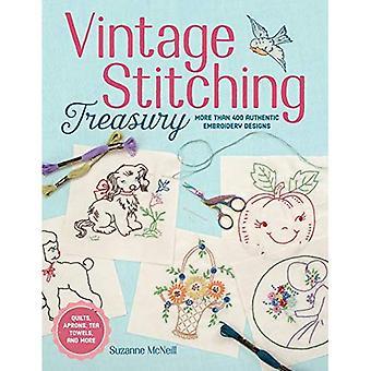Vintage stiksels Schatkist: Meer dan 400 authentiek borduurwerk ontwerpen