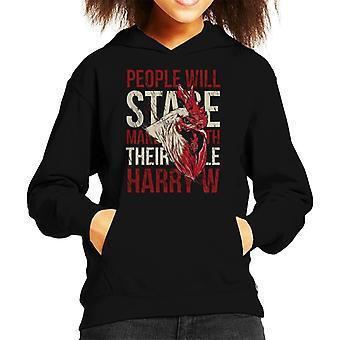 Kip Stare Kid's Hooded Sweatshirt
