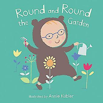 Rotondo e rotondo il giardino (libri di bordo di Baby) [Paperback]