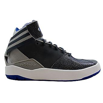 Adidas Crestwood Mid J Grey/Blue-White  Grade-School B27555 Size 4 Medium