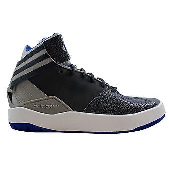 Adidas Crestwood midt J grå/blå-hvit grunnskolen B27555 størrelse 4 Medium
