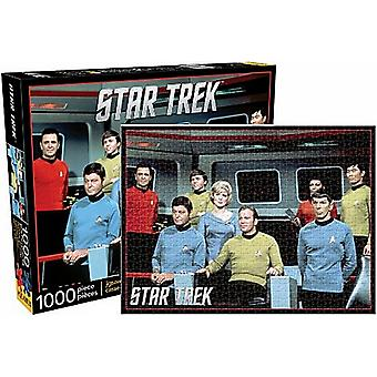 Star Trek Original Series 1000 piece jigsaw puzzle   (nm)