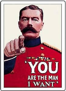 You Are The Man (Lord Kitchener) steel fridge magnet