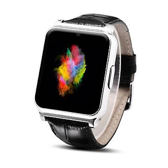 Stuff Certified ® Original W90 SmartWatch Android Smartphone Watch OLED iOS Silver