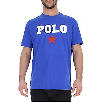 T-shirt cotone Ralph Lauren Blue