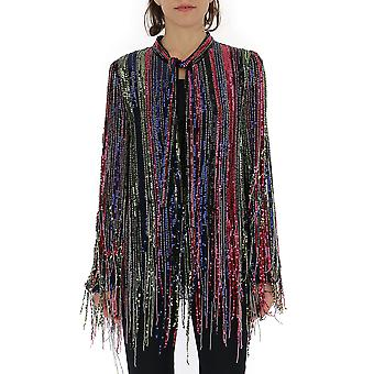 Amen Multicolor Viscose Outerwear Jacket