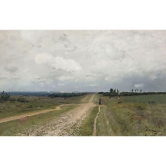 The Vladimirka Road,Isaac Levitan,60x38cm