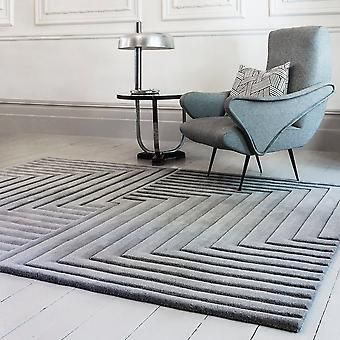 Form Rugs In Silver