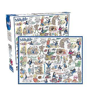 Roald Dahl Matilda 500 peça de quebra-cabeça (nm)