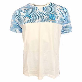 2019-2020 Olympique Marseille Puma Casuals Performance Tee (White)