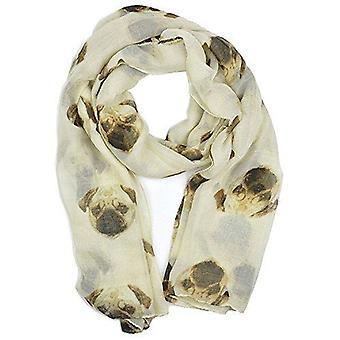 & reg; Weibchen großen Sommerpug Hund Welpen Chiffon überdimensionalen langen Stil Schal