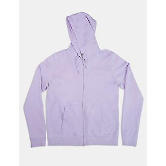 Colorful Standard Organic Cotton Zip Hooded Sweatshirt - Soft Lavender
