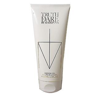 Madonna Truth eller Dare dusj gel for kvinner TRIPLE PACK 3x200ml
