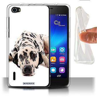 STUFF4 Gel TPU Phone Case / Cover for Huawei Honor 6 / Dalmatian Design / Dog Breeds Collection