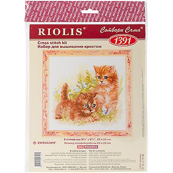 Child's Play Counted Cross Stitch Kit-9.75