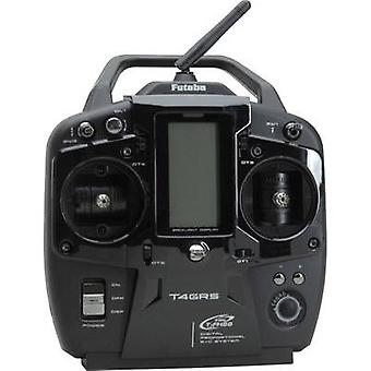 Futaba T4GRS-R304SB 2,4 GHz T-FHSS Handheld RC 2,4 GHz No. of channels: 4 Incl. receiver