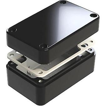 Universal enclosure 130 x 80 x 60 Aluminium Black Deltron Enclosures 487-130806E-66 1 pc(s)