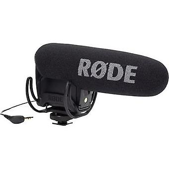 Camera microphone RODE Microphones VideoMic Pro Rycote Transfer type:Corded incl. pop filter, incl. cable, Hot shoe moun