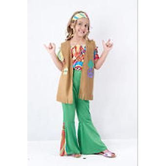 Guirca Hippie Girl Child Costume Size 4-6 years (Kids , Toys , Costumes)