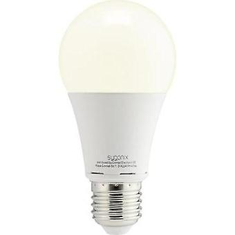 LED E27 Arbitrary 9.5 W = 60 W Warm white (Ø x L) 60 mm x 119 mm EEC: A+ Sygonix 10 pc(s)