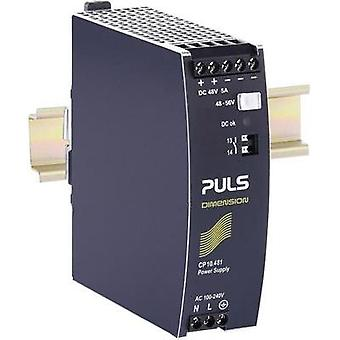 Rail mounted PSU (DIN) PULS CP10.481 48 Vdc 5.4 A 259 W 1 x