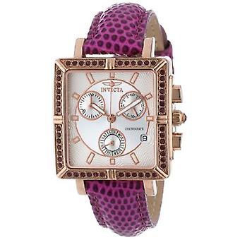 Invicta  Wildflower 10336  Leather Chronograph  Watch