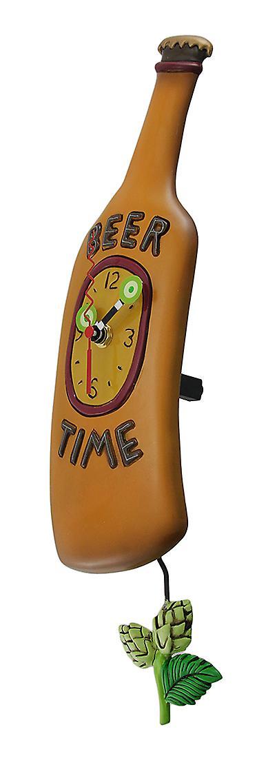 Clock Allen Wall Pendulum Designs Time Beer Bottle bY7gvI6yfm