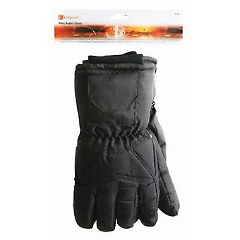 Mens Heated Gloves 3M Thinsulate fibre for skiing, fishing and cycling