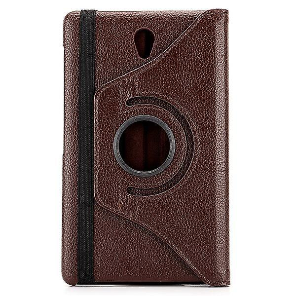 Cover 360 degrees brown bag for Samsung Galaxy tab S T700