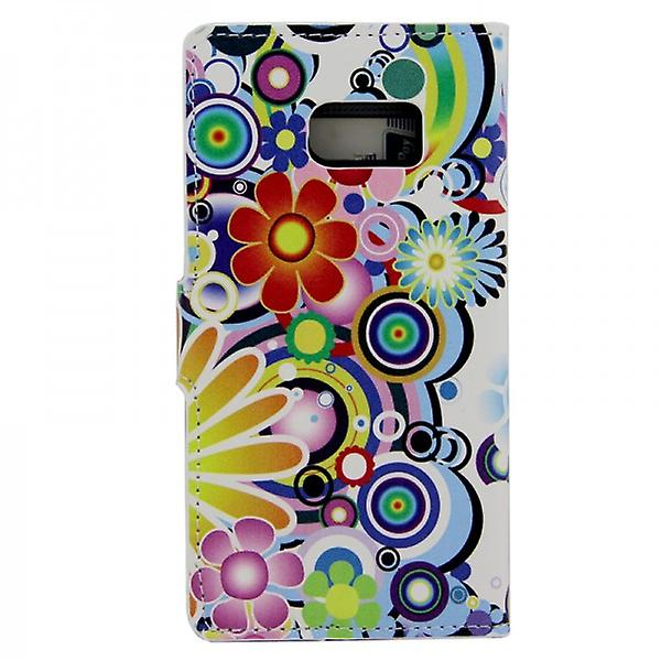 Cover wallet pattern 1 for Samsung Galaxy S6 G920 G920F