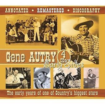 Gene Autry - importación de los E.e.u.u. más grandes estrellas [CD] primeros años de Od de un país