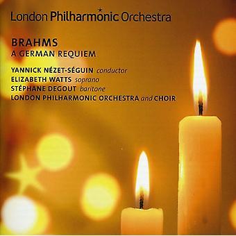 J. Brahms - Brahms: En tysk Requiem [CD] USA import