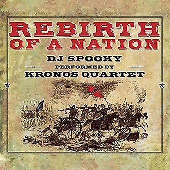 Miller / DJ Spooky / Kronos kvartetten - genfødsel af en Nation [CD] USA import