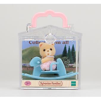 森林家族熊上摇马婴儿携带箱