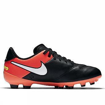 Nike Jr Tiempo legend VI FG 819186 018 boys soccer shoes